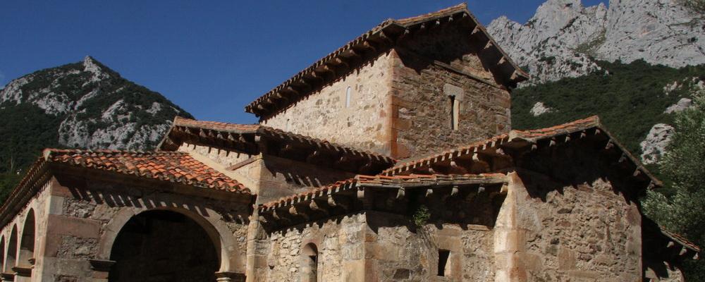 Camino Lebaniego por el Valle del Nansa, Santa Maria de Lebeña