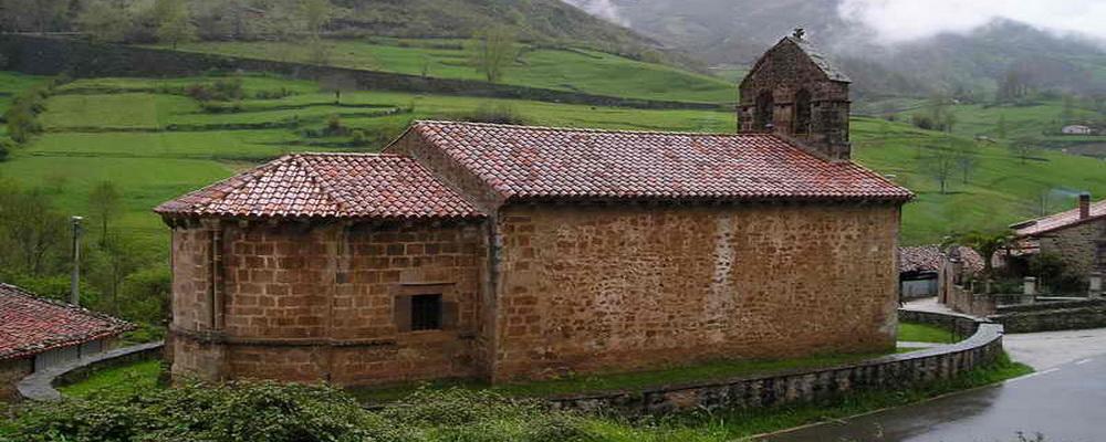 Iglesia Romanica de Santa Juliana de Lafuente, El Camino Lebaniego por el Valle del Nansa