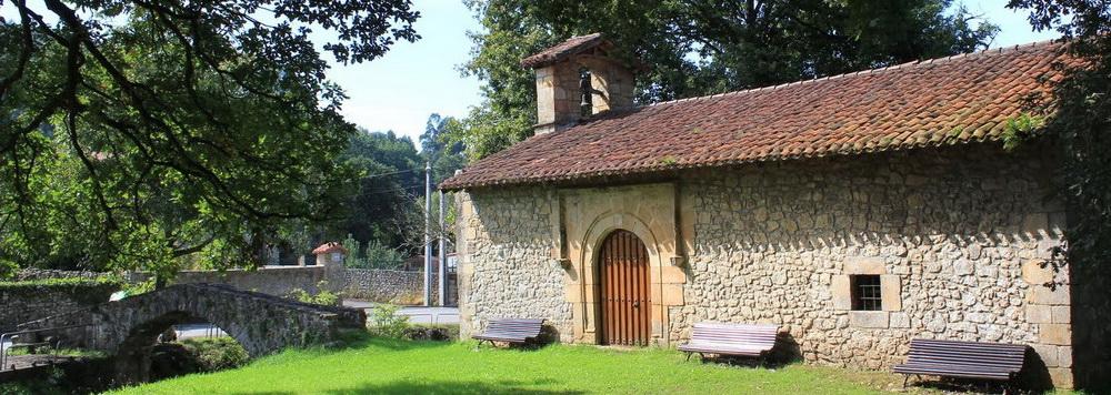 Ideas para viajar a Cantabria en primavera Valle de Liendo ermita de san Andrés