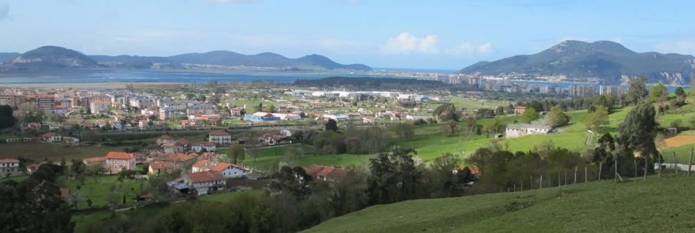 Ideas para viajar a Cantabria en primavera segunda parte Laredo desde Limpias
