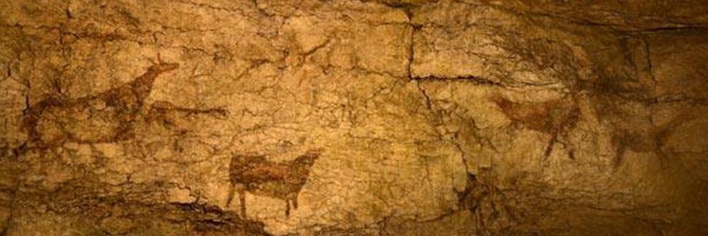 Cueva El Pendo Friso de las pinturas