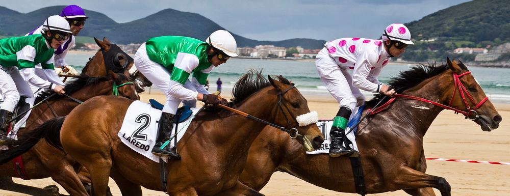 Derby en la playa de Laredo