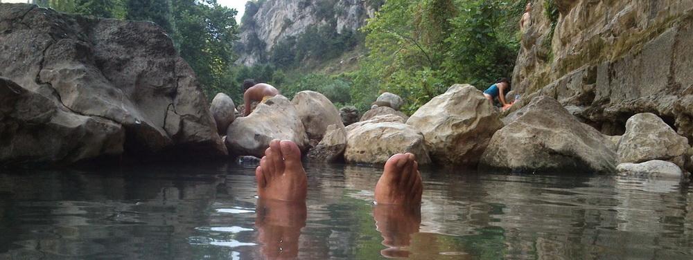 Un paraíso repleto de balnearios que cautivaron al mundo. Aguas Termales de La Hermida