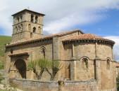 Colegiata de San Pedro en Cervatos Vista general de la colegiata Cantabria Cantabriarural