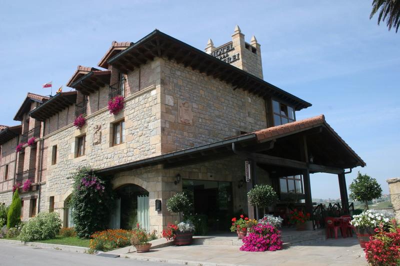 Hotel Rural Marfrei Suances Cantabria Porche de entrada
