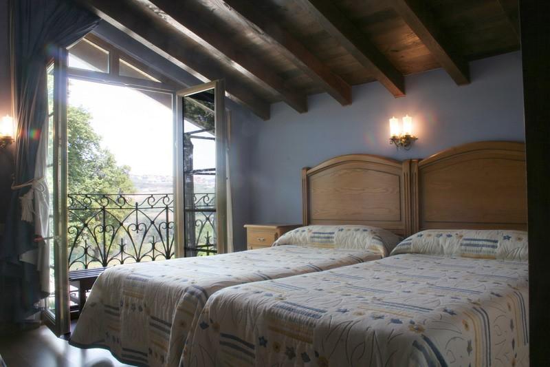 Hotel Rural Marfrei Suances Cantabria Habitación matri,monio