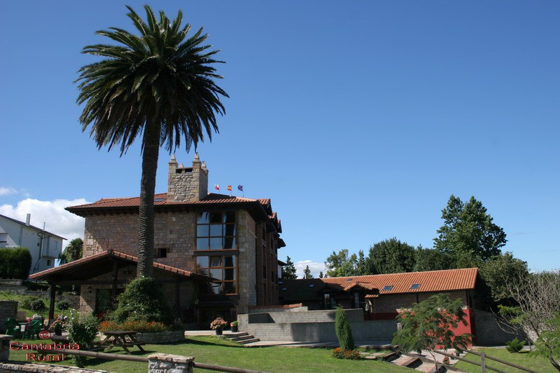 Hotel Rural Marfrei Suances Cantabria Cuidado jardín