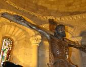 San Martin de Elines Cristo en la Cruz Cantabria Cantabriarural