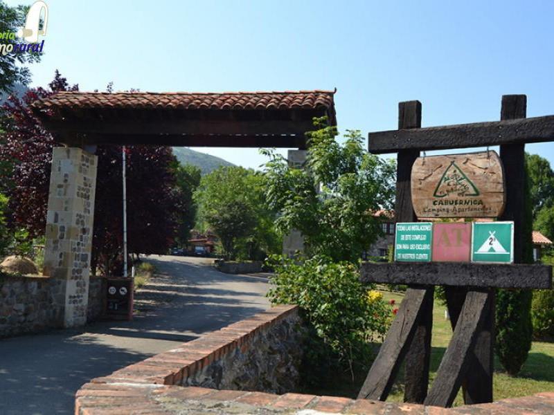 Camping El Molino de Cabuerniga entrada