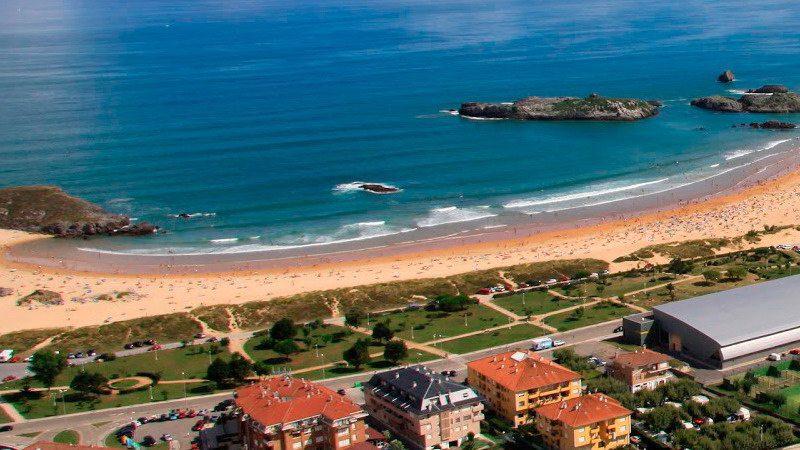 Hotel gala hotel en la playa de ris noja cantabria - Hoteles en cantabria con piscina ...