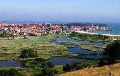 Cantabria en Bici: Ruta San Miguel de Meruelo –  Isla – Cabo de Quejo – Marismas del Joyel