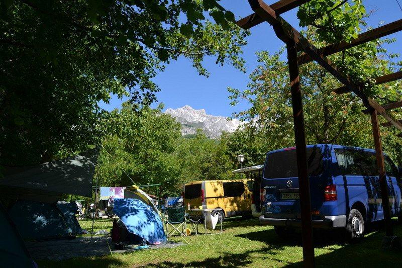 Camping Potes Cantabria, camping potes bungalows, camping Potes,