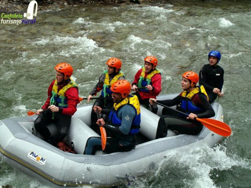 ofertas rafting cantabria
