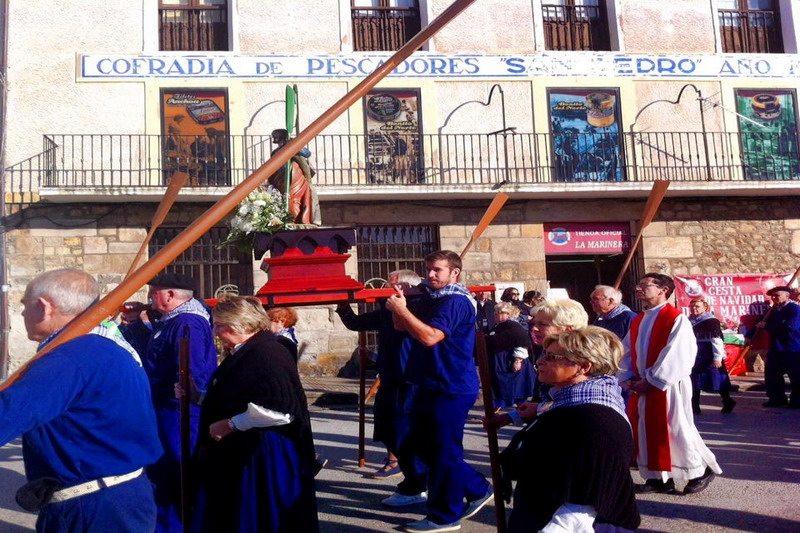 Fiesta de San Andres en Castro Urdiales Cantabriarural