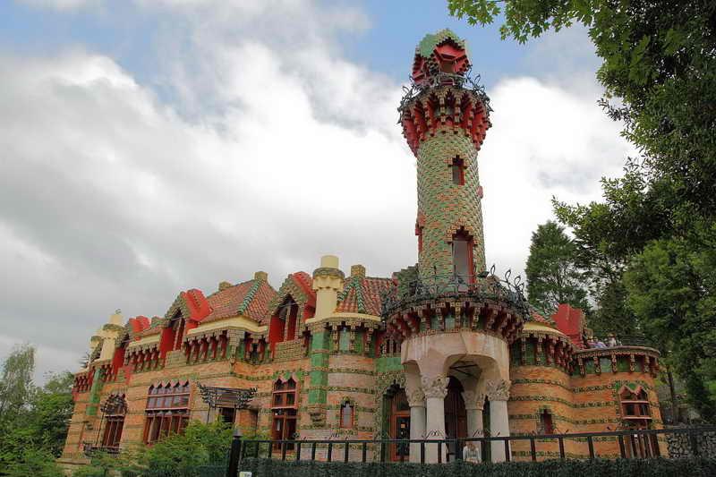 Capricho de Gaudí, Arquitectura de Gaudí en Comillas Cantabria
