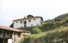 Casa de José Mª de Cossio, Casona de Tudanca