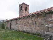 Vista general de la Iglesia Romanica de Santa Olalla Cantabria Cantabriarural