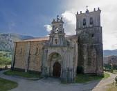 Iglesia de Santa Maria de Miera Vista general Cantabria Cantabriarural