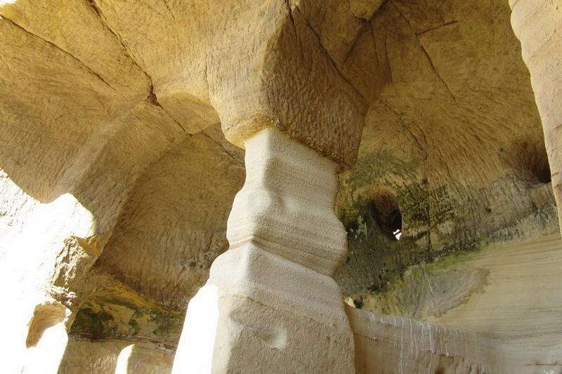 Iglesia rupestre de San Miguel de Presillas, Iglesia rupestre ...