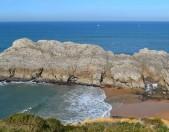Playa nudista de Somocuevas Cantabria Cantabriarural