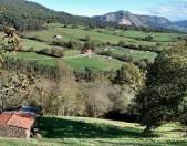 Subida al Campo de la Cruz desde Coo Cantabria Cantabriarural