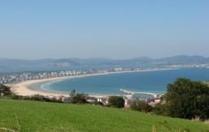 Camino de Santiago en Cantabria de la Costa de Guriezo a Guemes Cantabria cantabriarural Playa La Salvé