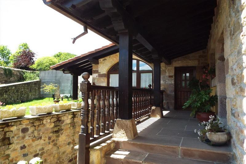 Casa Rural La Riguera de Ginio Cantabria cantabriarural Terraza