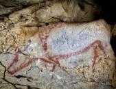 Cueva de Covalanas Toro paciendo Cantabria Cantabriarural