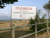 Juliobriga Ciudad Romana Cartel Anunciador de la ciudad Cantabria Cantabriarural