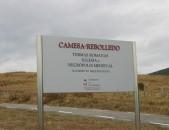 Yacimiento arqueológico Camesa Rebolledo Cartel Anunciador Cantabria Cantabriarural