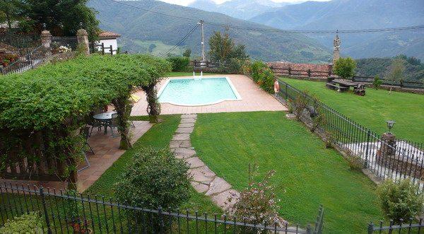Apartamentos Rurales La Hacienda de María, apartamentos rurales en potes con piscina,