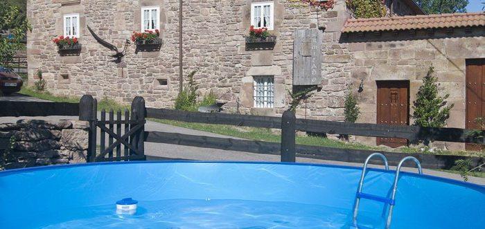 Casa Rural Los Eros, Casa rural en Valdeolea, Casa rural con Piscina en Valdeolea