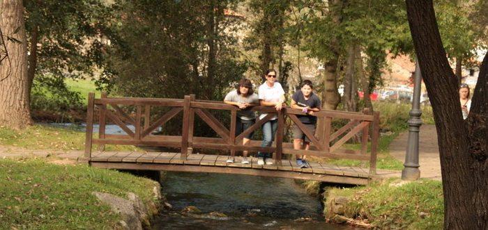 Fuentona de Ruente, Parque y Nacimiento de La Fuentona en Ruente (Cantabria)