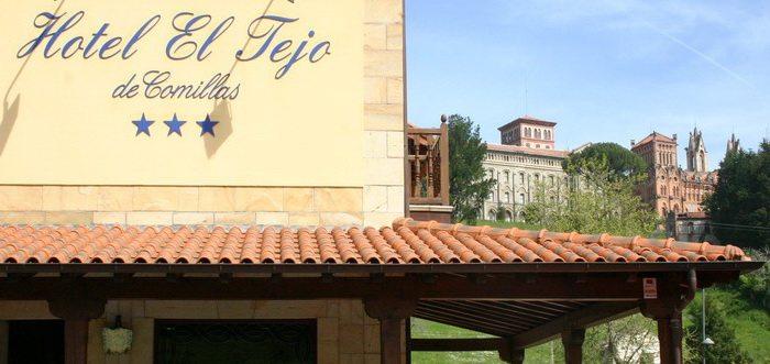 Hotel familiar en Comillas Hotel El Tejo Cantabriarura Comillasl