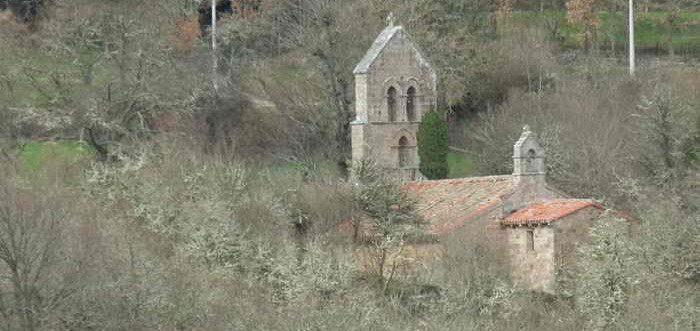 Iglesia de San Miguel de Arcera, Iglesia románica de San Miguel (Arcera)