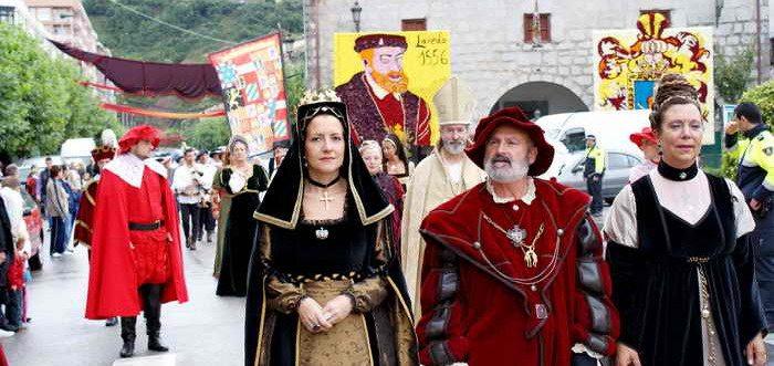 La Ruta de Carlos V , El ultimo viaje de Carlos V Cantabria