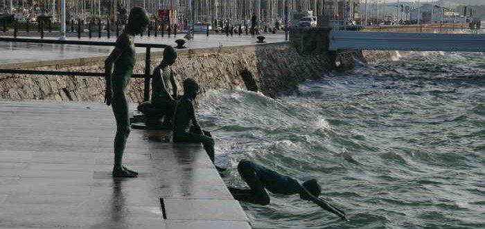 Monumento a los Raqueros de Santander, Santander monumental
