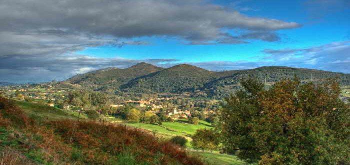 Parque Natural de Peña Cabarga, Macizo de Peña Cabarga Cantabria