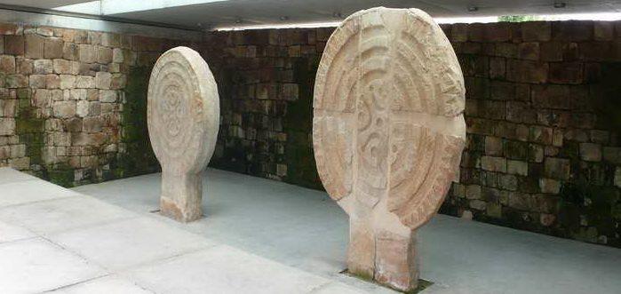 Parque de las Estelas de Cantabria, Estela gigante de Barros