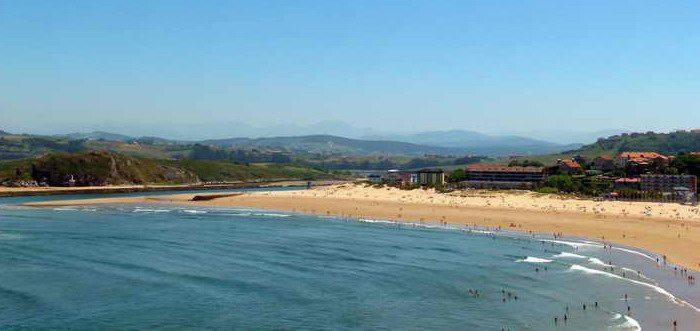 Playa de La Concha en Suances, Playas de Suances Cantabria
