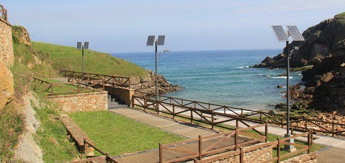 Playa de santa Justa Santillana del mar Cantabria