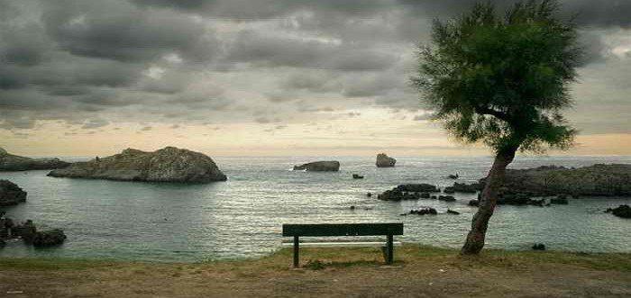 Playas de Noja. Playa de Ris, Playas de la costa oriental de Cantabria