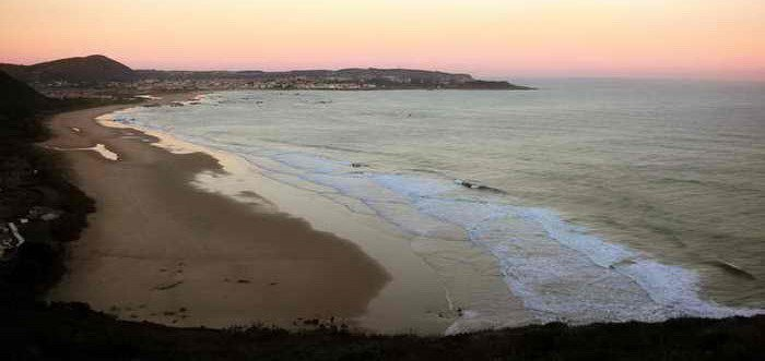 Playas de Noja. Playa de Trengandín, Playas costa oriental de Cantabria