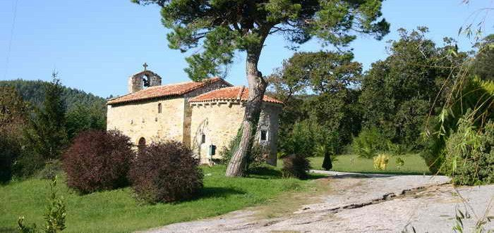 San Roman de Escalante, Ermita de San Román de Escalante Cantabria