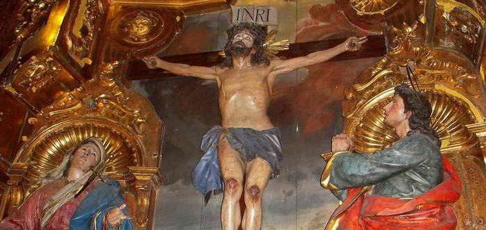 Santuario Santo Cristo de Limpias, Iglesia de San Pedro Apostol Limpias