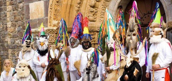 Zamarrones de Piasca Liébana Cantabria, Carnaval Antruído de Piasca
