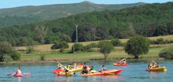 Albergue Corconte, Albergues en Campoo Cantabria, Albergue con actividades en el Pantano del Ebro