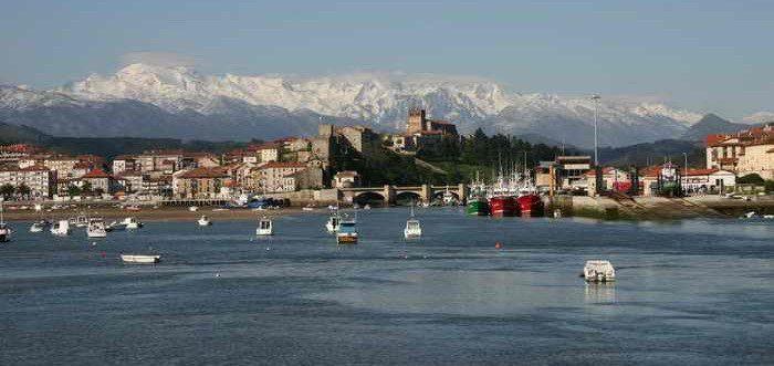 Bahía San Vicente de la Barquera, Paisajes de Cantabria