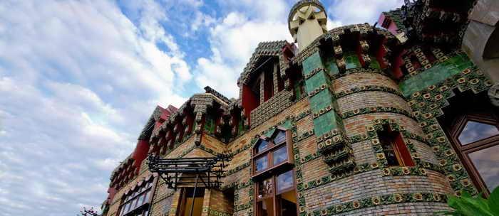 Capricho de Gaudi Arquitectura de Gaudi en Cantabria Camino de Santiago