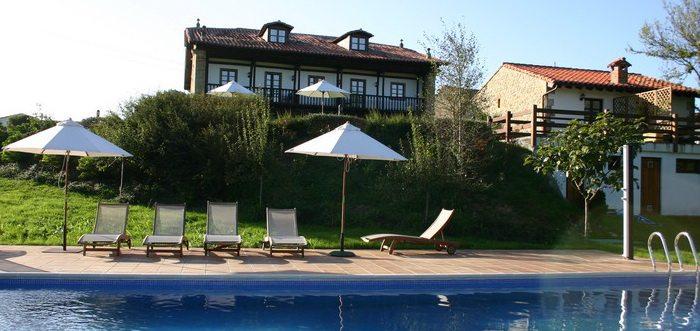 Hotel Casona Palación de Toñanes, Hoteles rurales con piscina en Toñanes